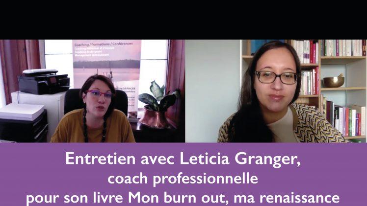 Entretien avec Léticia Granger, coach